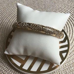 ✨Pave & Gold Bangle Bracelet! ✨